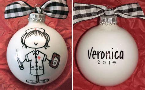 Personalized Nurse Ornament