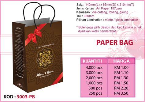 paper bag cantik  murah cenderahati  aksesori