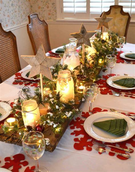 Decoration De Table Pour Noel D 233 Coration De Table De No 235 L Pour Une Atmosph 232 Re Magique
