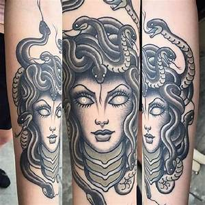 60 Medusa Tattoo Designs - nenuno creative