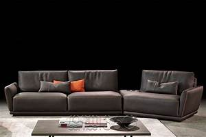 Victor Leather Sectional Sofa By Gamma Arredamenti Room