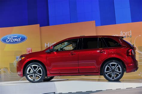 2018 Ford Edge Sport Debut At 2018 Chicago Auto Show