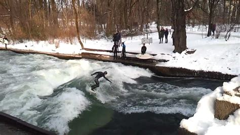 Englischer Garten Munich Surfing by Surfing In Englischer Garten During The Winter