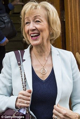 Andrea Leadsom's a sneak whose heart is cold as her hands ...