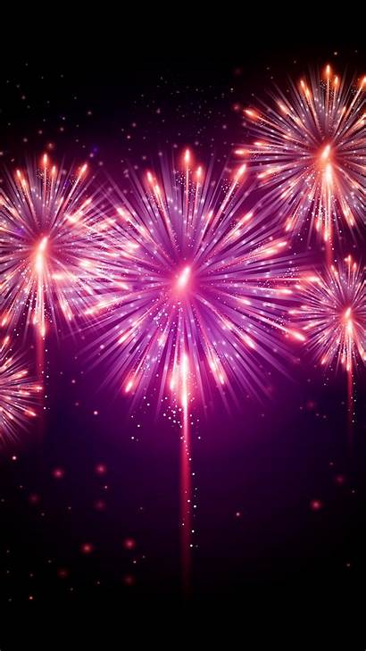 Pink Fireworks Android Mobile Phone Wallpapers Phones