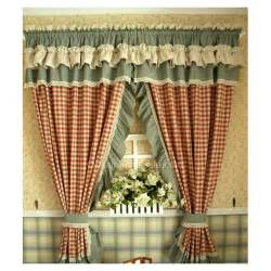 Curtain Color Matching by Country Style Lace Rim Plaid Style Buy Lace Curtains