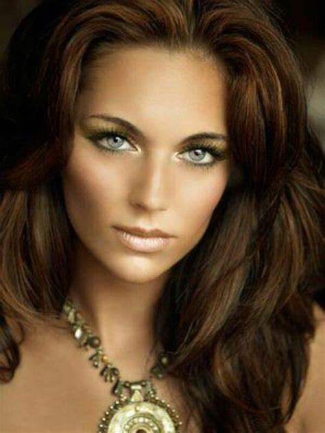 nice haircolor   golden olive skin tone hairstyles