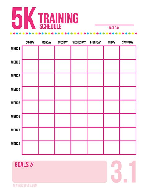 from to 5k free 5 reasons to run a 5k free printable b superb