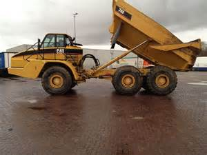 cat articulated dump truck dump truck caterpillar articulated dump truck cat 740