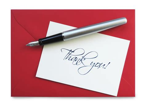 Interview Etiquette: Is The Handwritten Thank You Note ...