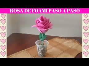 Tutorial flores originales y divertidos de foamy o goma