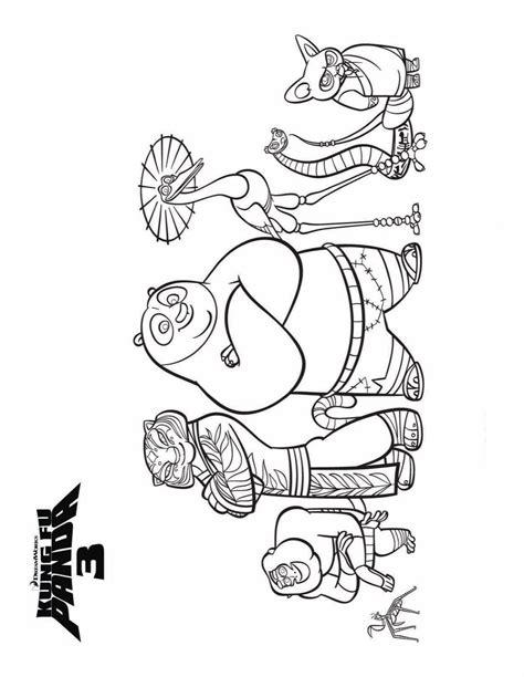 kids  funcom coloring page kung fu panda  kung fu panda