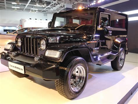 dc showcased the limited edition hammer at auto expo 2018