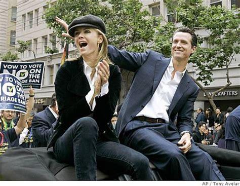 guilfoyle kimberly newsom gavin husband ex divorce were reasons married source worth twice divorced anchor fox getting tv