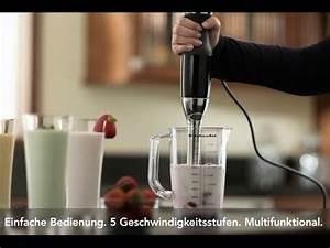 Kitchen Aid Stabmixer : kitchenaid stabmixer 5khb2571 youtube ~ One.caynefoto.club Haus und Dekorationen