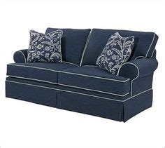 Broyhill Emily Sofa Navy by Rooms Family Room On Pinterest Budget Organization