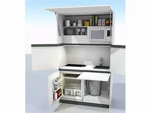 Meuble Pour Petit Espace : dr les de concepts pour petites cuisines elle d coration ~ Premium-room.com Idées de Décoration