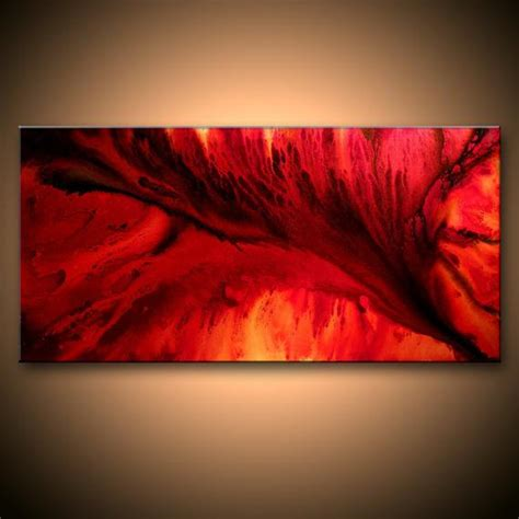 Abstract Black Pictures by Large Original Abstract Painting Black Contemporary Moder
