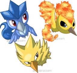 Baby Legendary Bird Pokemon