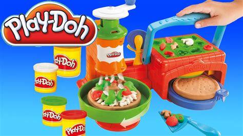 toys p 226 te 224 modeler la pizzeria play doh en fran 231 ais jouets pour les enfants