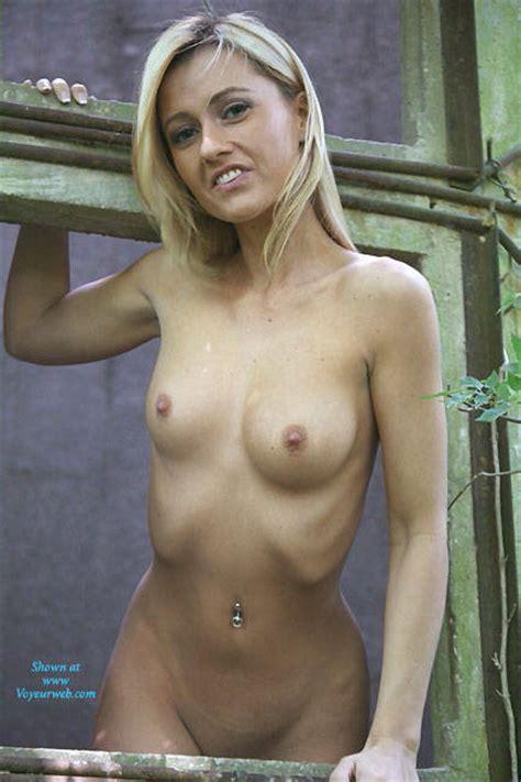 Seducing Naked Blonde Girl November Voyeur Web Hall Of Fame