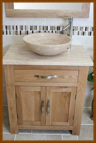 bathroom vanity unit oak solid ebay