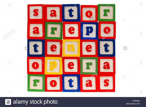 S a t o r. Sator square Stock Photo: 100652537 - Alamy