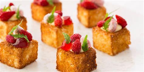 canape history cheesecake and brioche canapé recipe great chefs