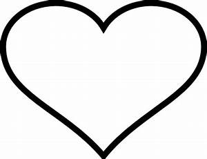 Black Heart Outline Png | www.imgkid.com - The Image Kid ...