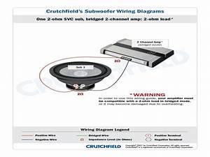 Subwoofer Wiring Diagram Crutchfield   Subwoofer Wiring