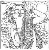 Malvorlagen Getcolorings Ausmalen Elodie Poupées Kostenlose Martinchandra Coloringareas Bustayes sketch template