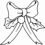 Bow Coloring Christmas Hair Pages Printable Bows Getcolorings Heart Getcoloringpages Clip Getdrawings Valentine sketch template