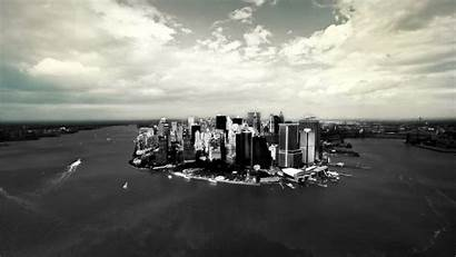 York Grayscale Cityscapes Skylines Fond Wallpapers Ecran