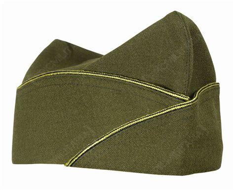 ww2 military ww2 us army officers piped garrison side cap all sizes