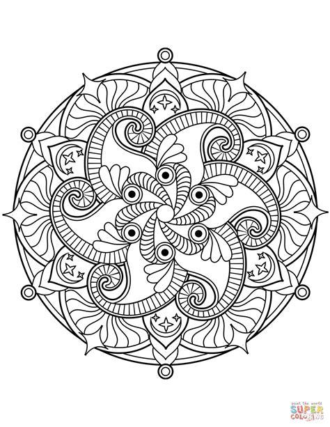 mandalas coloring flower mandala coloring page free printable coloring pages