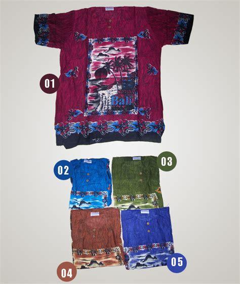 baju motif pantai bali  oleh oleh khas bali