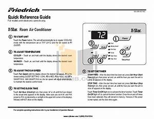 Prima One And Only Air Conditioner Manual