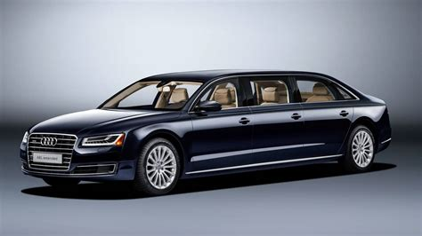 A Limousine by This 21 Foot Audi A8 Limousine Is The Anti Rod The Drive