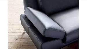 Sofa 3 Sitzer Leder : sofa 3 sitzer finest in leder schwarz mit funktionen ~ Eleganceandgraceweddings.com Haus und Dekorationen