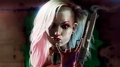 Quinn Harley Cool Gun Wallpapers 4k Digital