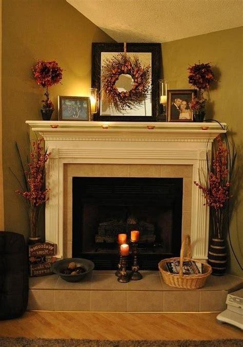 Decorating Ideas Photos by Corner Fireplace Decorating Ideas Photos