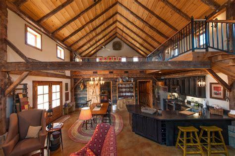 Greenville Barn   Rustic   Living Room   austin   by