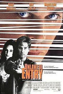 obsession fatale 1992 bande annonce unlawful entry