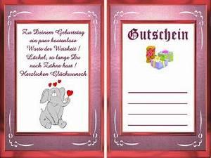 Gutschein Muster Geburtstag : gutscheine muster ~ Markanthonyermac.com Haus und Dekorationen