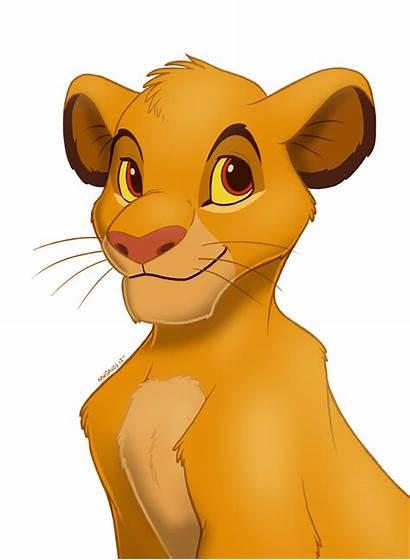 Simba Deviantart Pinkuh Disney Mufasa Lion King