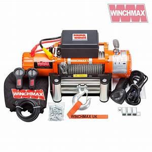 Winchmax Original Orange 12v Electric Winch 13 500lb  With