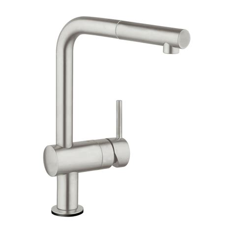 touch faucet kitchen grohe minta touch single handle pull sprayer kitchen