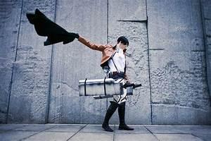 Attack On Titan Levi cosplay wig | Attack On Titan