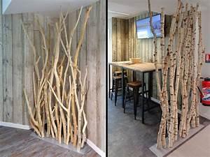 Porte Manteau Bois Flotté : paravent bois flotte good paravent paravent en bois savane with paravent bois flotte mur en ~ Teatrodelosmanantiales.com Idées de Décoration