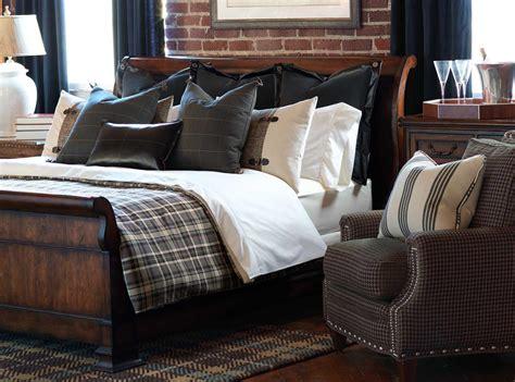 masculine bedding high end linens homesfeed